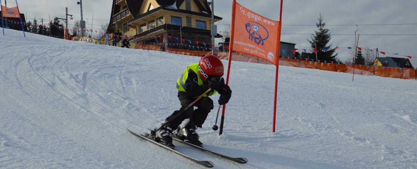 Treningi dla młodych narciarzy